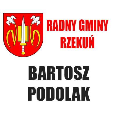 Radny Bartosz Podolak