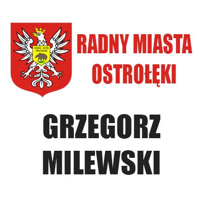 Radny Grzegorz Milewski
